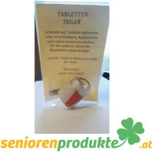 Tablettenteiler handmade